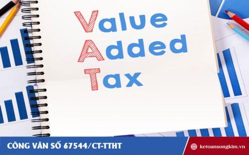 Công văn 67544/CT-TTHT về thuế GTGT đối với dịch vụ tư vấn du học